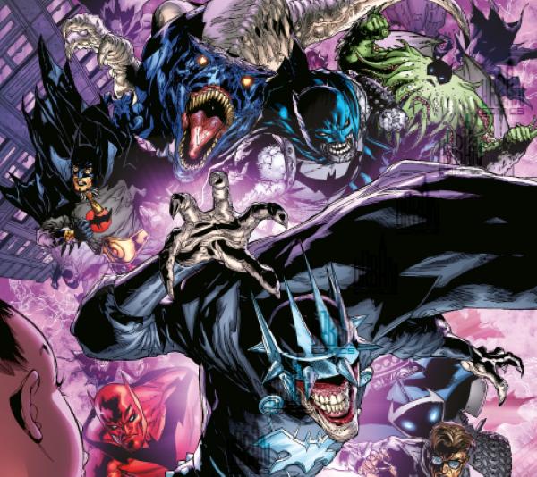 Les héros DC font face au Batman qui rit