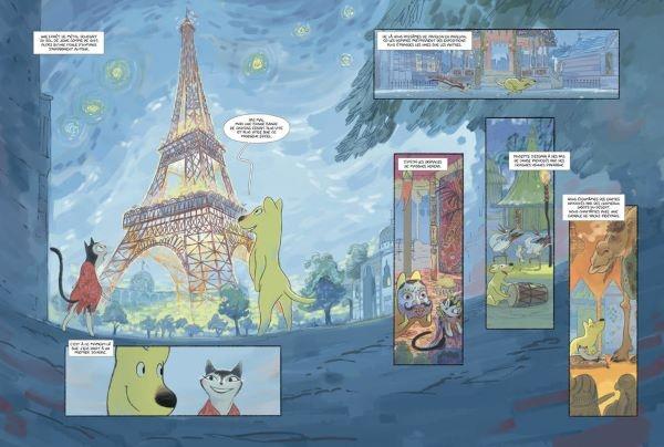 Ecoline en quête de Paris