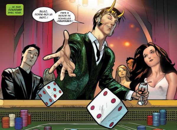 En quête d'un but, Loki s'égare sur Terre