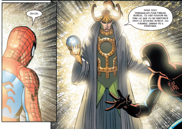 4 nuances de Loki