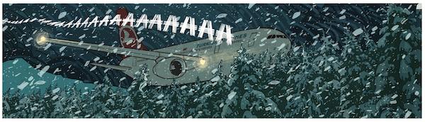 Le crash d'avion ce 23 décembre 1980 à 00h33