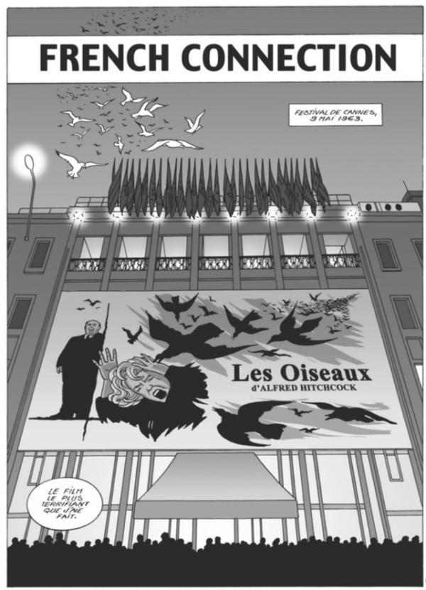 Les Oiseaux d'Alfred-hitchcock (1963), un thriller angoissant