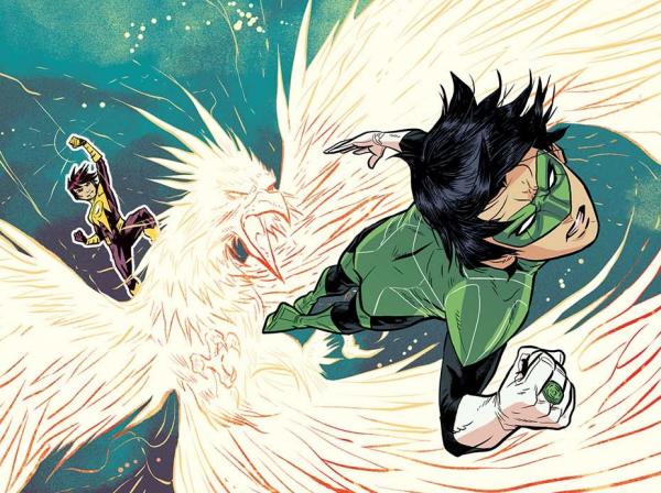 Minh Lê confronte le concept de Green Lantern à des enjeux sociaux actuels