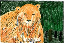 L'ours, animal emblème de Mathilde Poncet