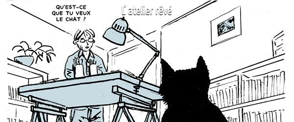 André Devaivre en 5 dessins : l'atelier rêvé