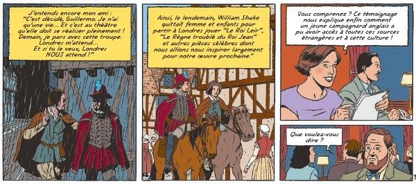 Extrait de page 37 de Blake et Mortimer
