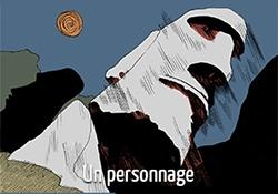 Valentin Gallet en 5 dessins : le personnage