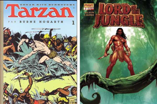 Du Tarzan de Burne Hogarth au seigneur d'Arvid Nelsone la jungle de