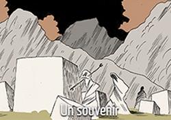 Valentin Gallet en 5 dessins : le souvenir