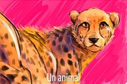 Maeril : mi-humaine, mi-guépard