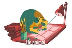 Paul Bona en 5 dessins : l'animal