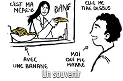 Quentin Rigaud en 5 dessins : le souvenir