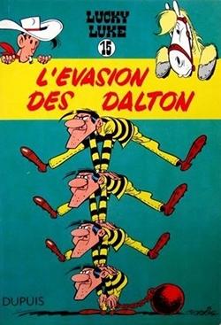 Lucky Luke éclipsé par les Dalton