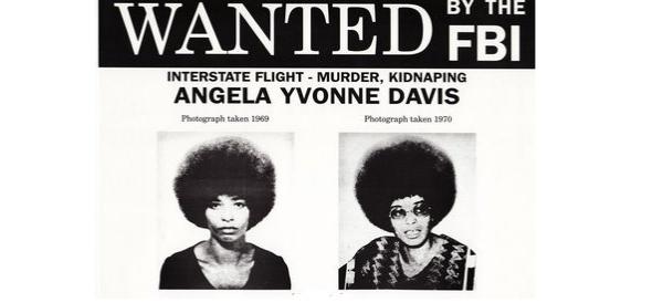 Accusée injustement, Angela Davis sera traquée par le FBI