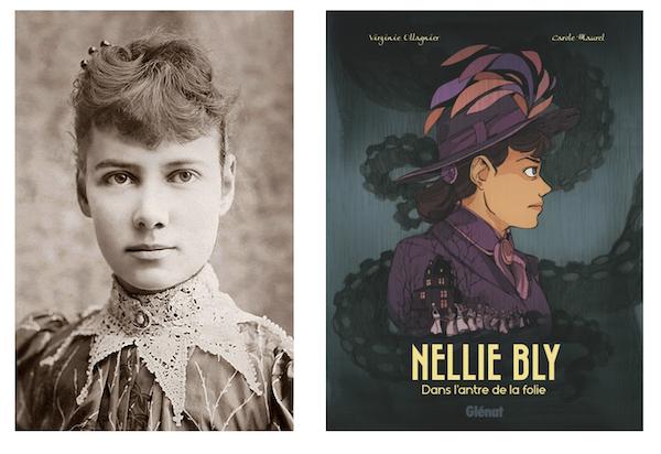 Nellie Bly, dont l'enquête est adapté en BD cette année