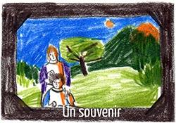 Mathilde Poncet en 5 dessins : le souvenir