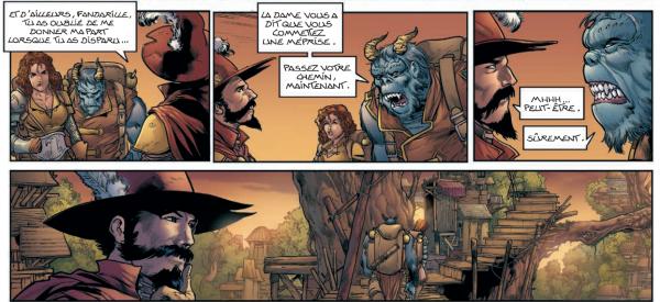 Altaï et Rodombre sont à la recherche d'un forestier érudit qui saura déchiffrer les baguettes contant la vraie histoire de Darko
