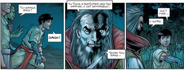 Luksand, l'héritier de Darko, est entré secrètement à l'académie de Lumière pour y étudier la magie sous la férule des inquiétants Rédempteurs Radieux.