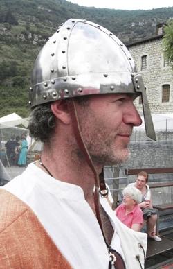 Philippe Xavier au Festival BD de Sainte-Enimie