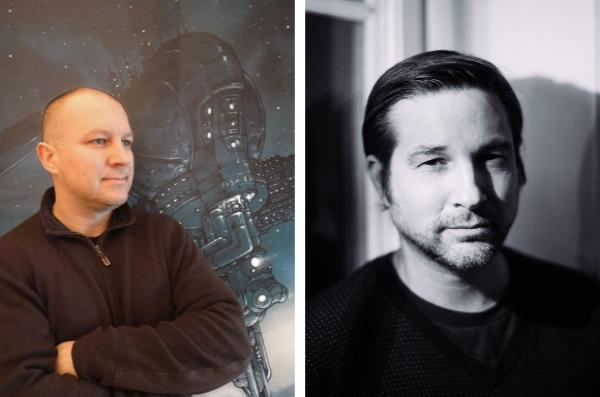Grun et Runberg collabore depuis 7 ans sur On Mars