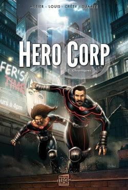 Illustration de la bande dessinée Hero Corp