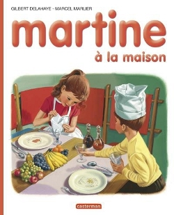 Couverture d'un album Martine