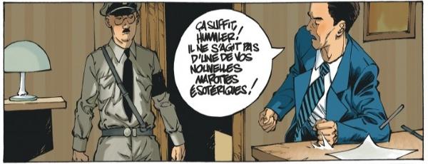 Himmler et Goebbels en pleine altercation