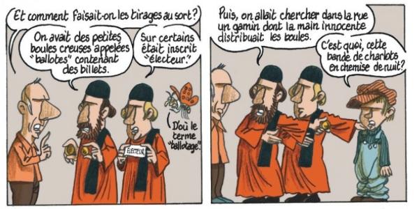 Extrait de Le Hasard page 16