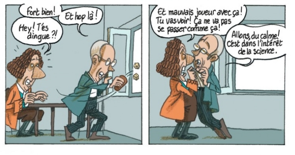 Extrait de Le Hasard page 27