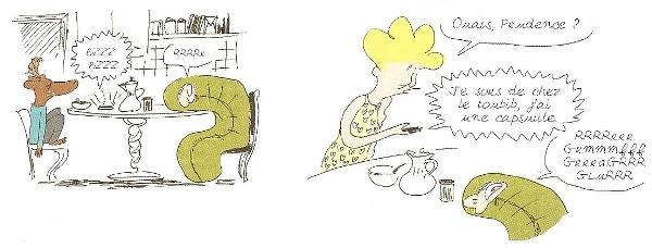 Rita, Chevreuil et Le Grouch au réveil