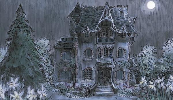Villa Vill'Hervé de nuit