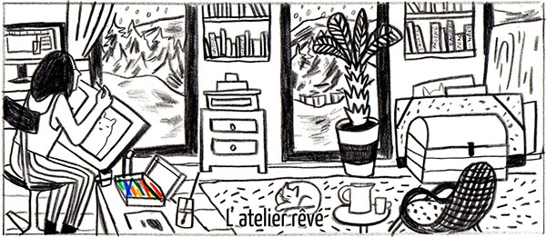 Avant de rendre passer le bonjour à Mathilde dans sa bulle créative, visitez son blog