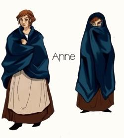 Croquis d'Anne par Gabrielle Auzias