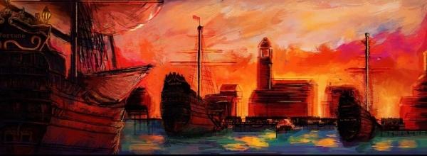 Vue sur la Nouvelle Orléans par Kévin Kabengele