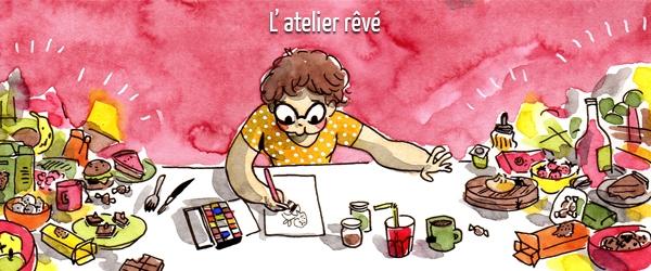 Avant de rendre visite à Roxanne dans son atelier, allez sur son blog !