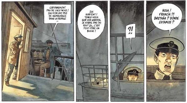 Extrait page 5 de Nuit noire sur Brest
