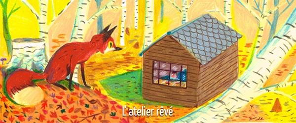 Avant rendre visite à Cléo dans sa cabane créative, faites un tour sur son blog !