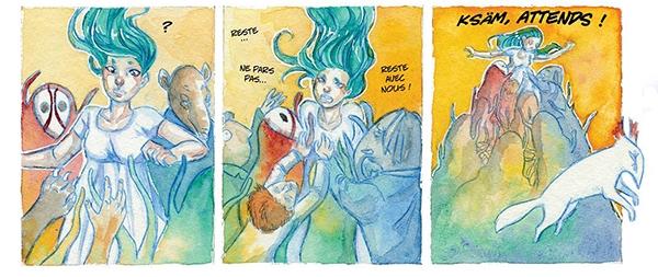Extrait de Little Nemo in Bédéland : Little Echo par Hermeline Janicot-Tixier