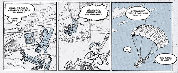Extrait de Little Nemo in Bédéland : Brosse à chiotte in Slumberland par Kévin Gasnier