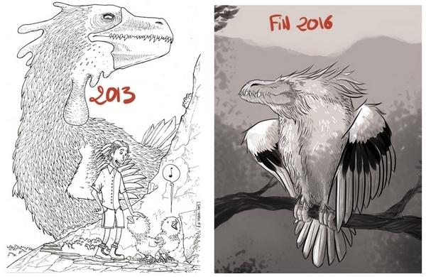 En trois ans, Le Vilain n'a jamais cessé de remplir son blog de curieuses créatures !