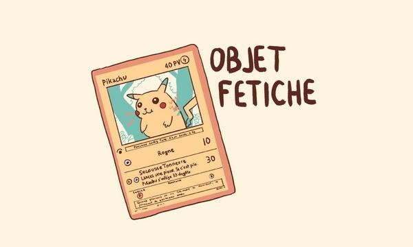 Outre sa passion pour la BD, Mlle Karensac a conservé un autre vestige de son enfance : ses cartes Pokémon !