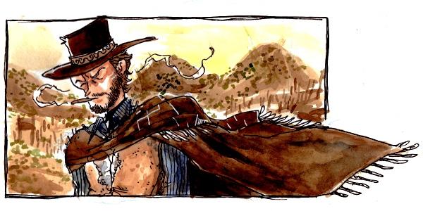 Avec un peu de barbe et un chapeau de cow-boy, la ténacité de Zoé Bergeret la ferait presque ressembler à Clint Eastwood dans Le Bon, la Brute, et le Truand.