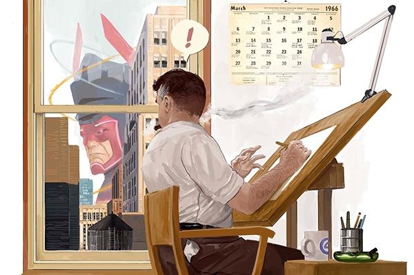 Illustration d'Alvaro Martinez