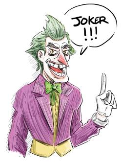 Qui mieux que le Joker pourrait incarner la folie artistique de Nosbi ?