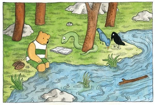 Envie de rejoindre Tulipe et ses amis au bord du lac ? Il suffit de vous rendre sur blog de Sophie Guerrive !