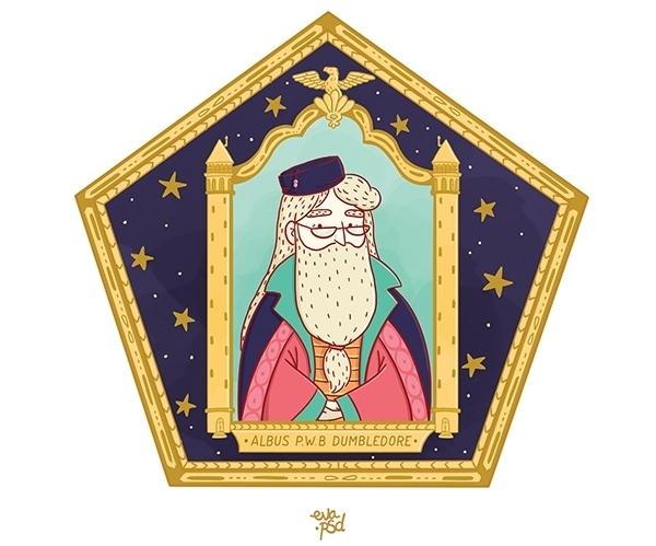Fan de Harry Potter, Eva Roussel a rendu honneur à un objet emblématique de la saga : les cartes Chocogrenouilles.