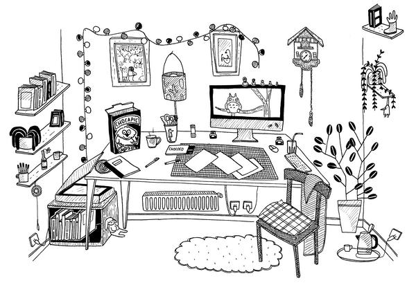 Avant de vous rendre dans l'atelier idéal d'Anne-Sophie, rendez-vous sur leur blog !
