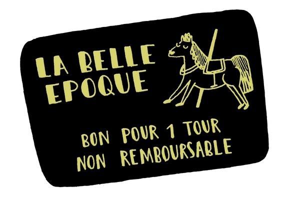 Anne-Sophie, la dessinatrice du duo, nous présente en image son objet fétiche : un ticket de manège qu'elle garde depuis l'enfance.