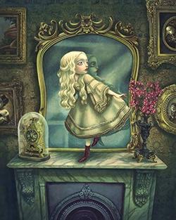 Extrait d'Alice de l'autre côté du miroir