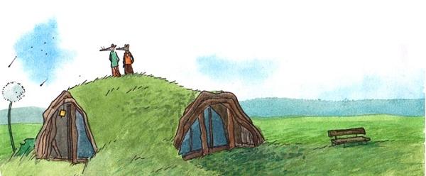 Sur son blog, Lucie Maillot partage des illustrations empreintes d'une merveilleuse poésie.